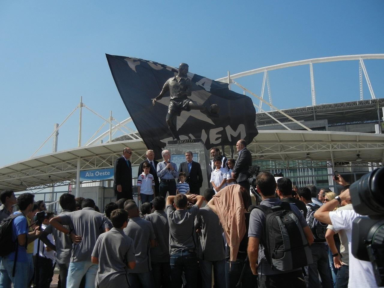 Zagallo entra para a lista de imortais do Botafogo com homenagem no Engenhão