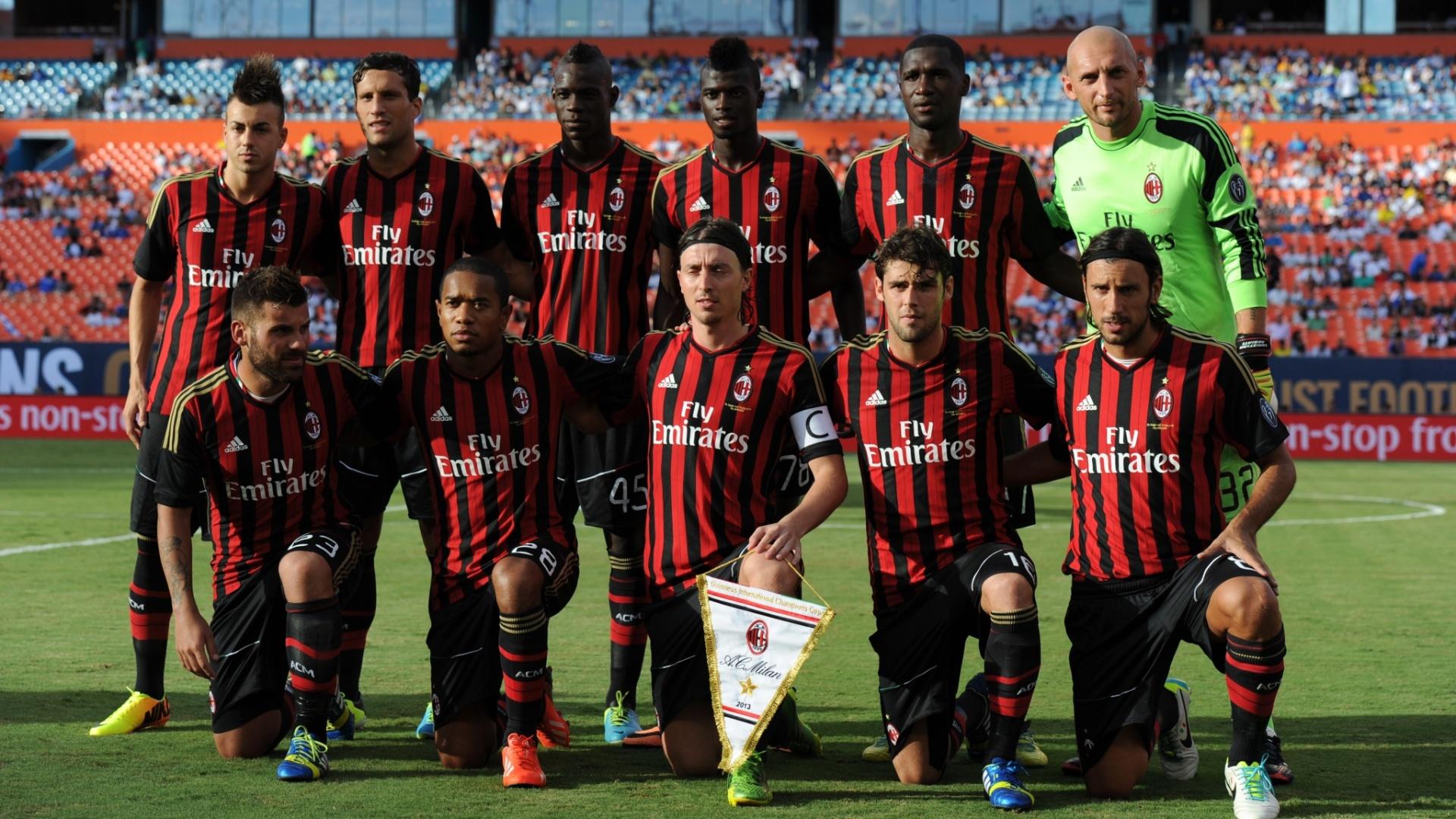 07-08-2013 - Time do Milan enfrentou o L.A. Galaxy na disputa do terceiro lugar da Guinness International Champions Cup