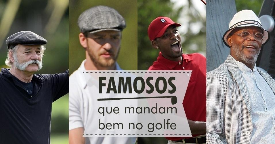 09ago2013- Famosos Golfe