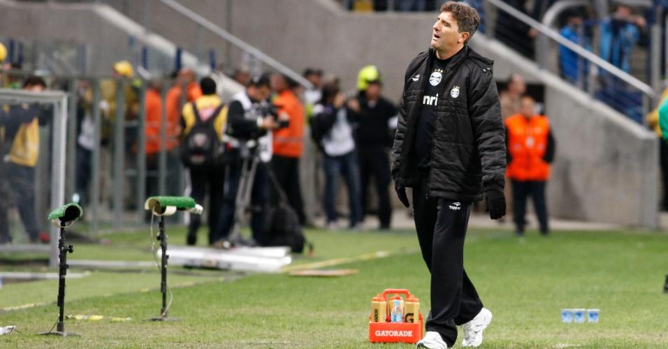 Renato Gaúcho lamenta derrota do Grêmio para o Coritiba