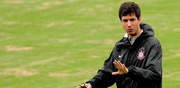Rodrigo Leitão é o coordenador geral da base do Corinthians