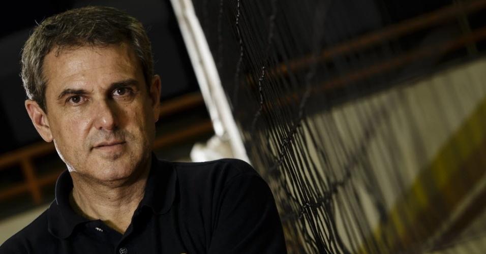 José Roberto Guimarães, técnico do Vôlei Amil e da seleção brasileira feminina de vôlei