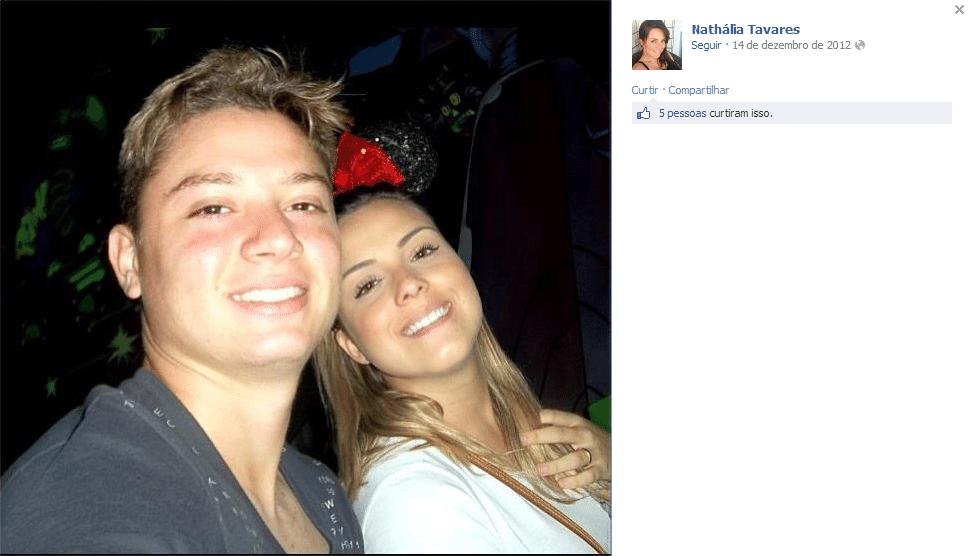 Nathália e Adryan se casaram em 2012