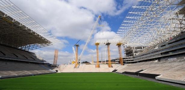 Jogo de abertura do Mundial no Itaquerão é o que tem a maior procura por ingressos