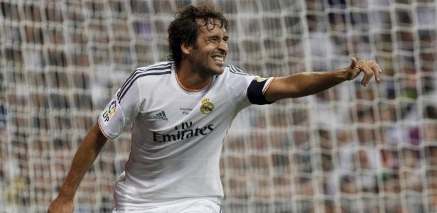 Raúl é um dos maiores ídolos da história do Real Madrid