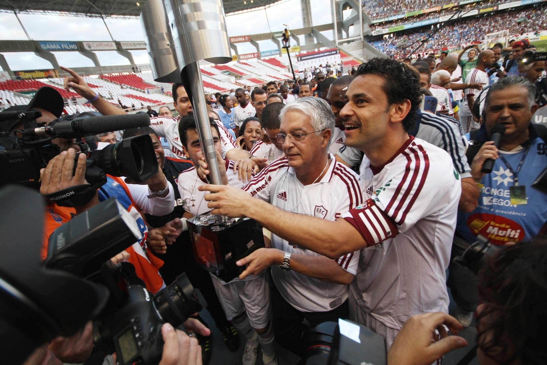 Veja o que mudou no Fluminense durante os 15 anos de parceria com a Unimed  - Esporte - BOL 03ae97fc8c253