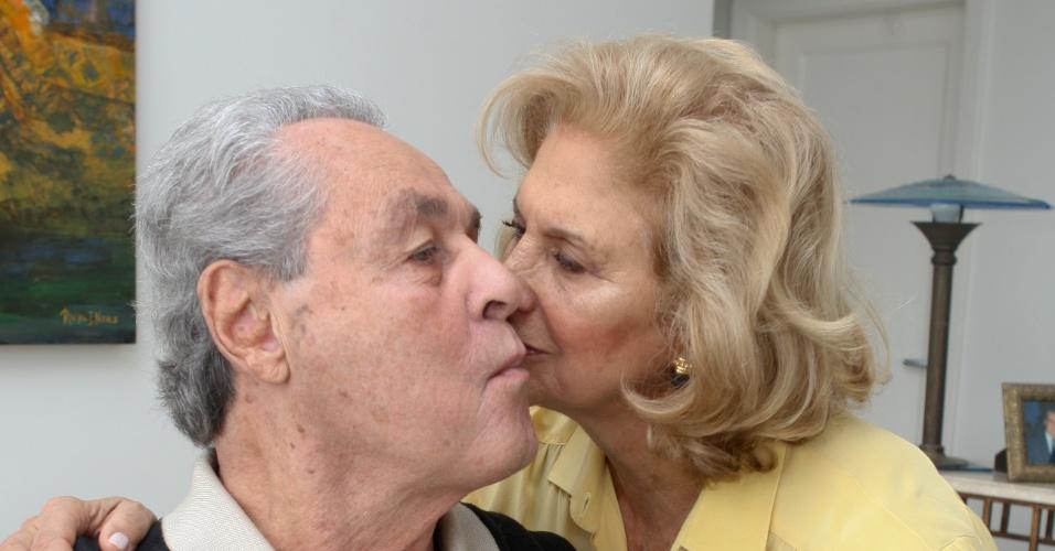 Gilmar com sua esposa Rachel Izar
