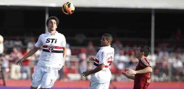 Rodrigo Caio foi um dos destaques no confronto diante do Cruzeiro