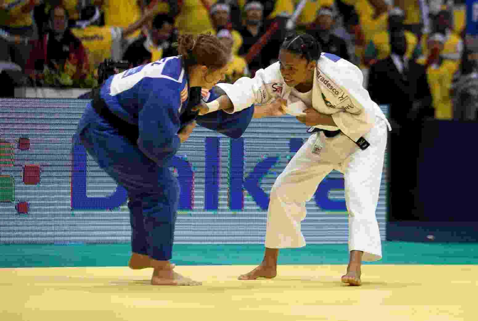 27.08.2013 - Mundial de Judo 2013, Maracanazinho, Rio de Janeiro. Erika Miranda x Birgit Ente - Leandra Benjamin/MPIX