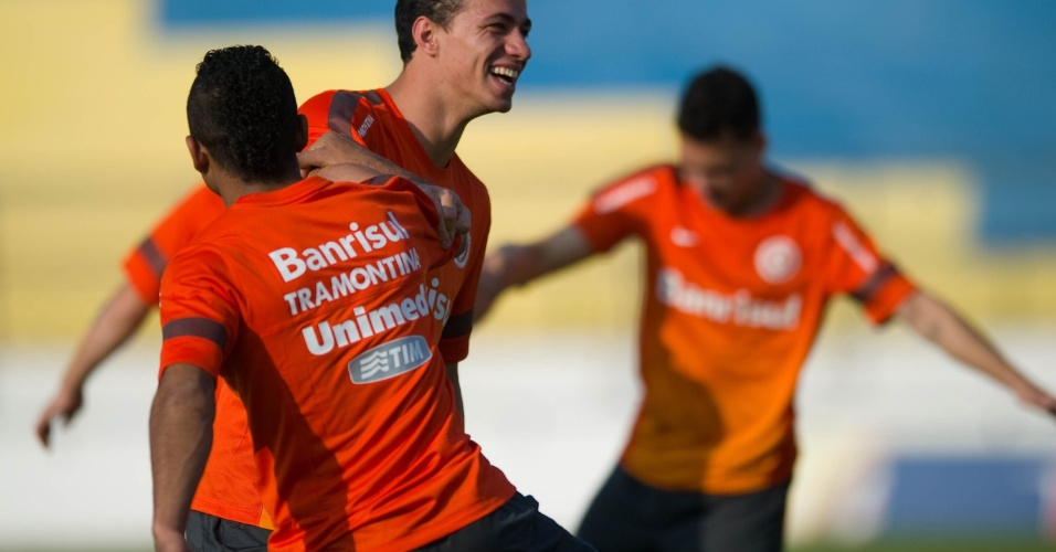 Leandro Damião durante treino do Internacional em Juazeiro do Norte-CE (27/08/13)