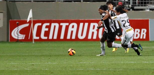 Ronaldinho Gaúcho responsabilizou a arbitragem pelo empate com Botafogo e consequente eliminação do time - Washington Alves/Vipcomm