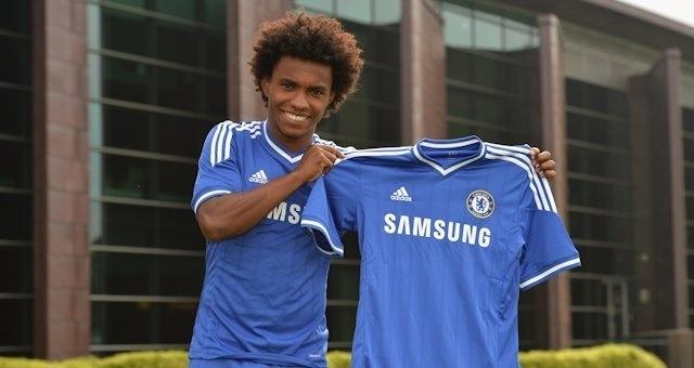 28.08.2013 - Apresentado, brasileiro Willian diz que Chelsea sempre foi a primeira opção para ele