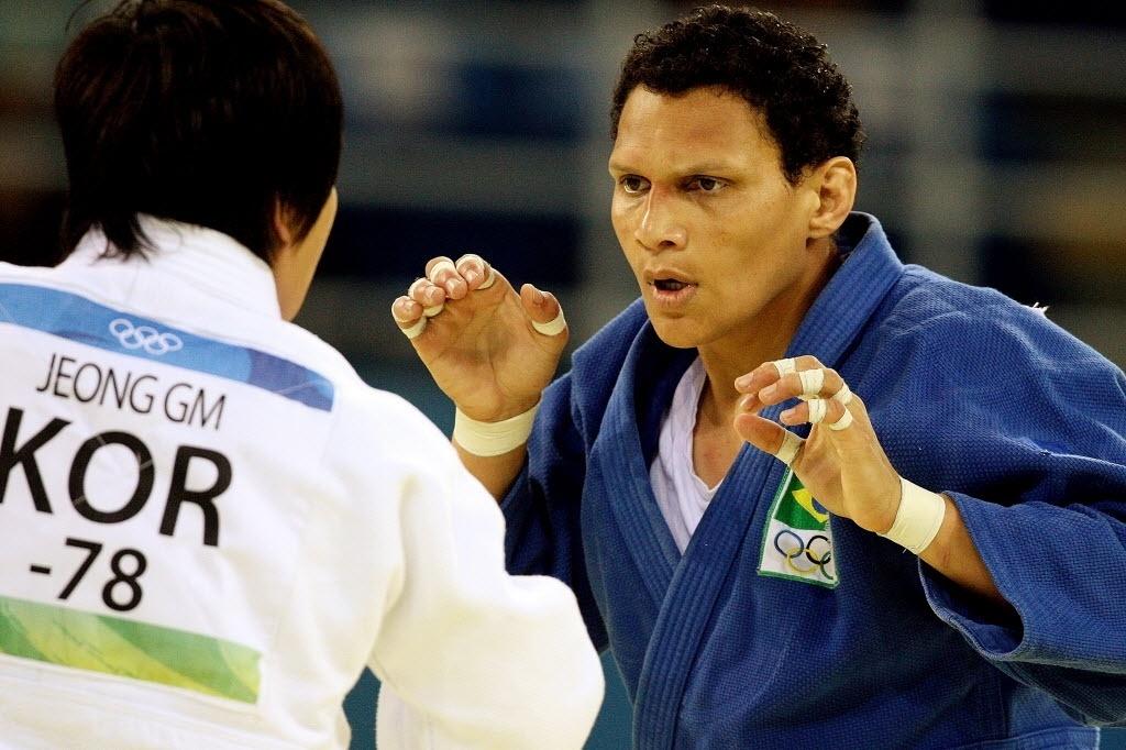 Edinanci Silva perde a disputa do bronze, na categoria até 78 kg, para a sul-coreana Gyeongmi Jeong e deixa os Jogos Olímpicos de Pequim sem medalha