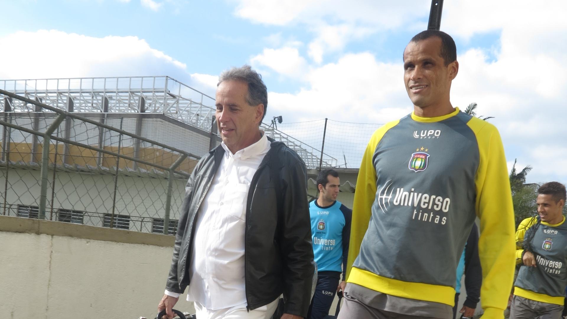 O meia tem contrato com o clube do ABC paulista até o final do ano