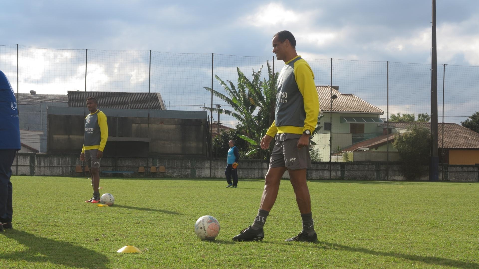 Rivaldo treino no São Caetano