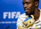 Usain Bolt visita Fifa e elogia seleção brasileira