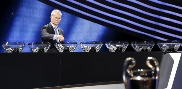 Giorgio Marchetti, diretor de competições da Uefa - SEBASTIEN NOGIER / EFE