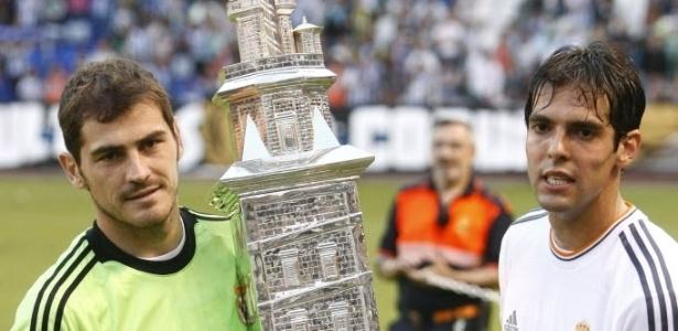 Meia e goleiro foram companheiros no Real Madrid - EFE/Cabalar