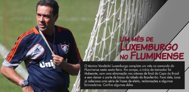 26bef07867 Fotos  Um mês de Luxemburgo no Fluminense - 30 08 2013 - UOL Esporte