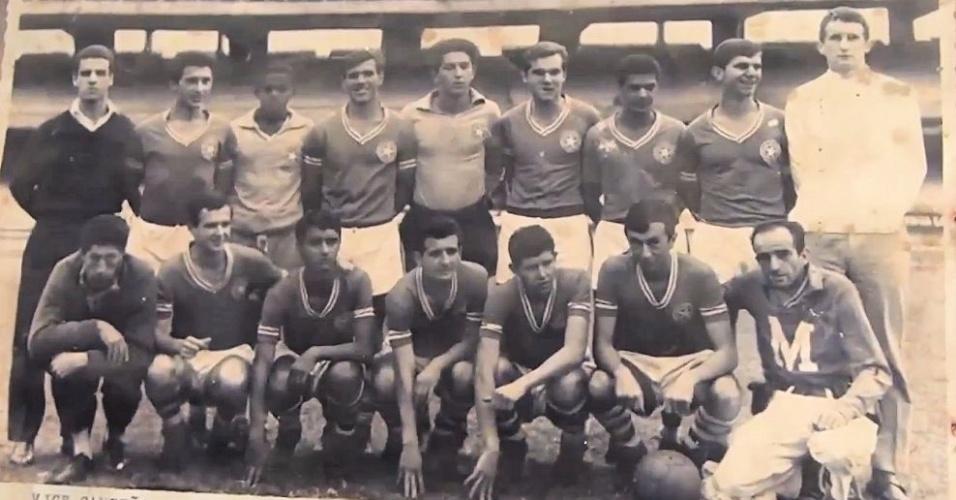 Time do Estrela da Saúde campeão paulista juvenil de 1967