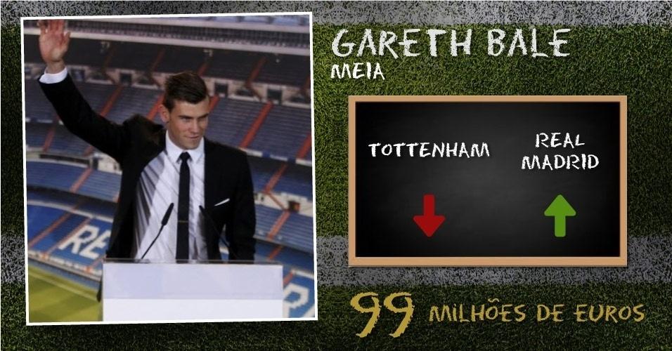 Bale - 99 milhões de euros