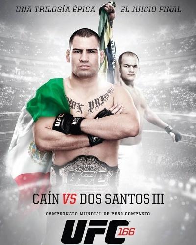 UFC 166 ganha pôster com