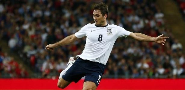 Lampard, da Inglaterra, e Paulo Wanchope, auxiliar técnico da Costa Rica, atuaram juntos no West Ham United