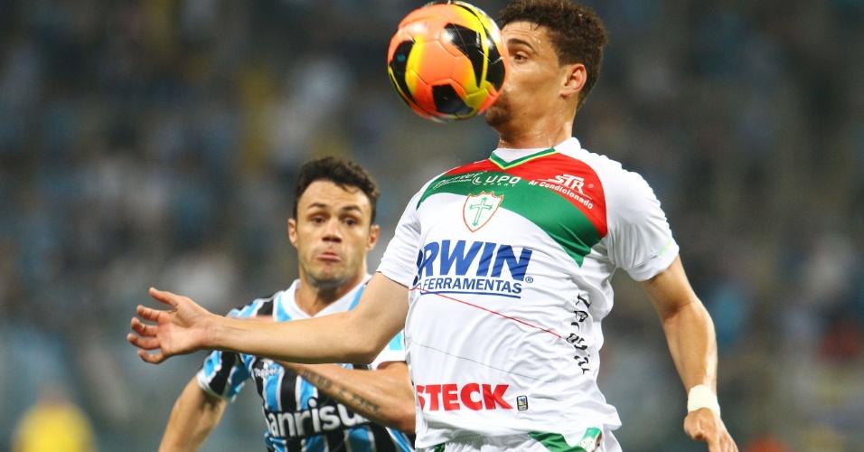 07.set.2013 - Grêmio e Portuguesa fazem duelo equilibrado no Sul