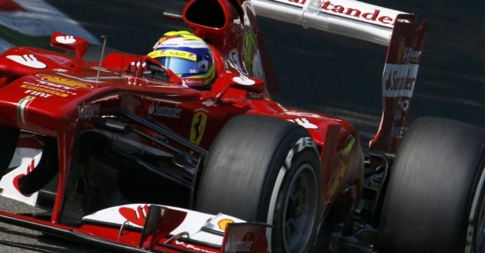 Fernando Alonso, da Ferrari, chegou à Itália anunciando que quer encerrar a carreira na Ferrari