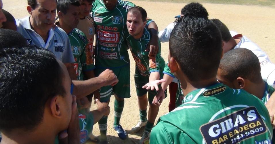 Time do Leões da Geolândia, que venceu por 3 a 1 o Vila Izabel e conquistou a classificação na Copa Kaiser