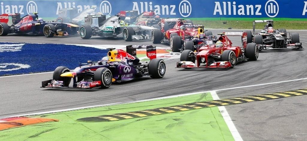 Vettel mantém a primeira posição do grid, recebendo a ameaça de Felipe Massa, que fez ótima largada