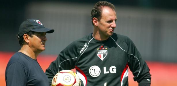Muricy crê que larga experiência de Ceni no futebol ajudará a superar dificuldades na nova função