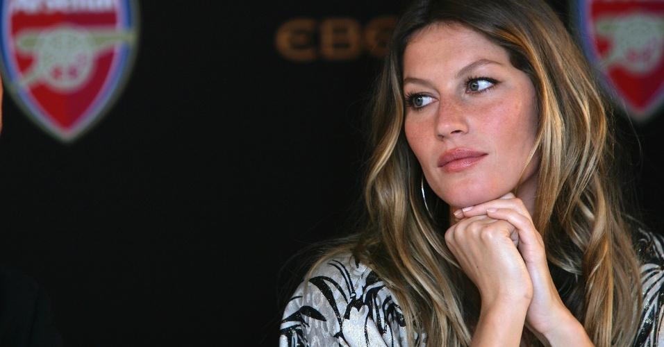 Gisele Bünchen, mulher de Tom Brady do New England Patriots