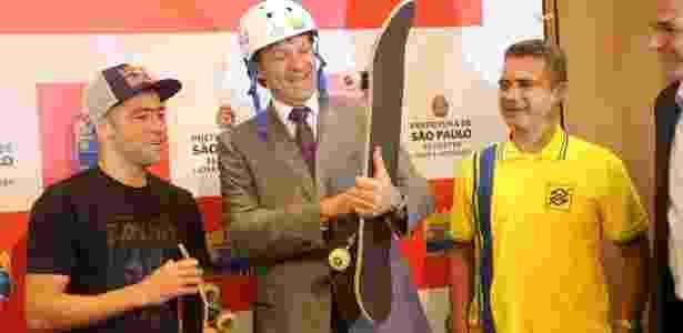 Haddad disse que o skate só perde para o futebol em número de praticantes na cidade de São Paulo - Paulo Anshowinhas/UOL