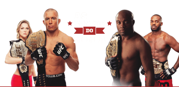 Duelo de Cartas - As Lendas do MMA