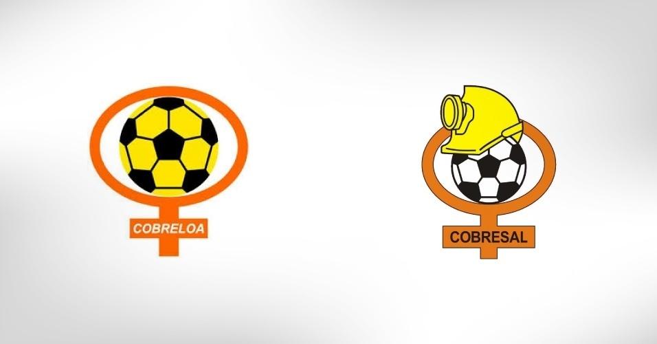 Cobreloa e Cobresal disputam o ?Clássico do Cobre? no Chile: nos escudos de ambas as equipes está o símbolo da Codelco, empresa estatal chilena que é a maior exploradora de cobre no mundo