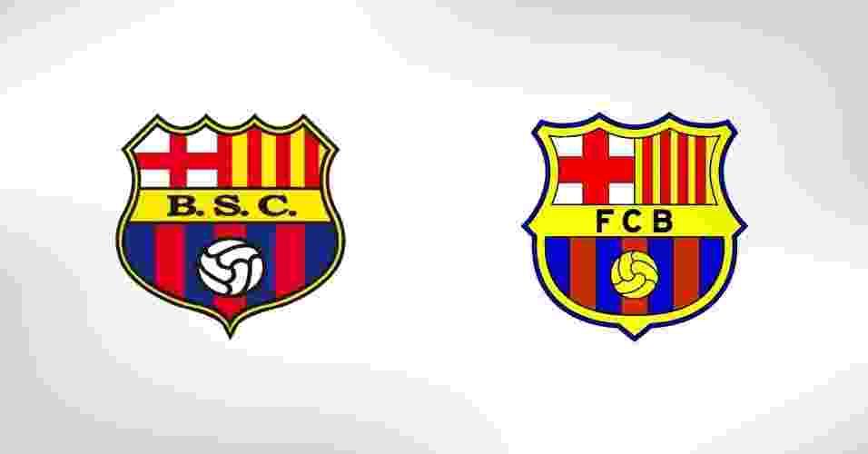 Escudos parecidos no futebol mundial - Notícias - BOL 0247fabdb6086