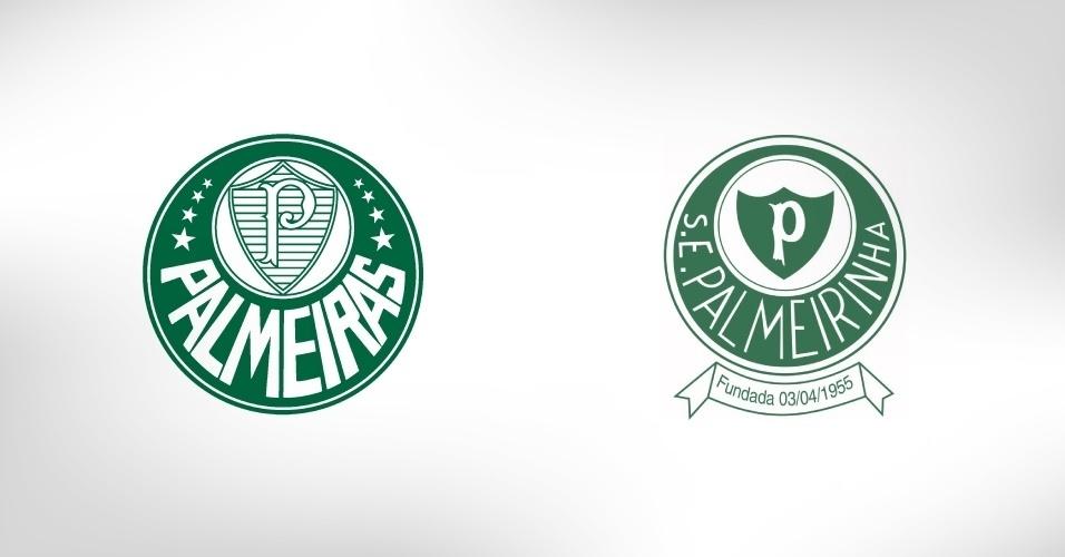O pequeno Palmeirinha, de Porto Ferreira, milita na quarta divisão do futebol paulista; desde o nome, até o escudo, a equipe homenageia o Palmeiras