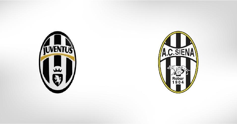 O Siena, que sempre luta contra o rebaixamento na Itália, copiou o símbolo do clube mais vezes campeão no país, a Juventus