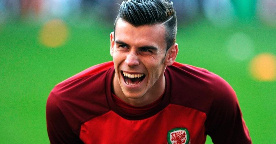 Gareth Bale foi disputado pelo Manchester United e o PSG antes de fechar com o Real Madrid
