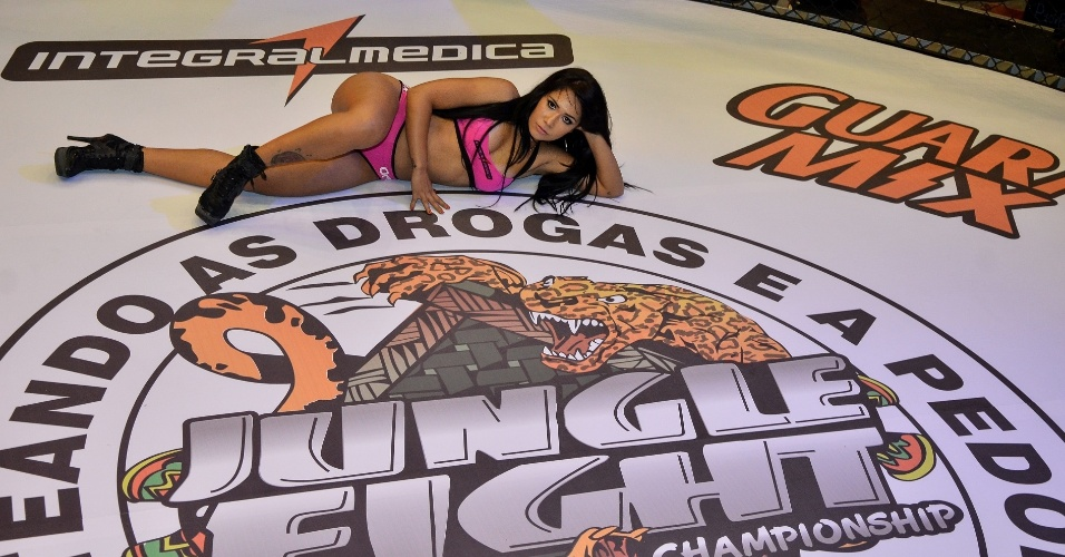 Jackeline Leal, nova ring girl do Jungle Fight