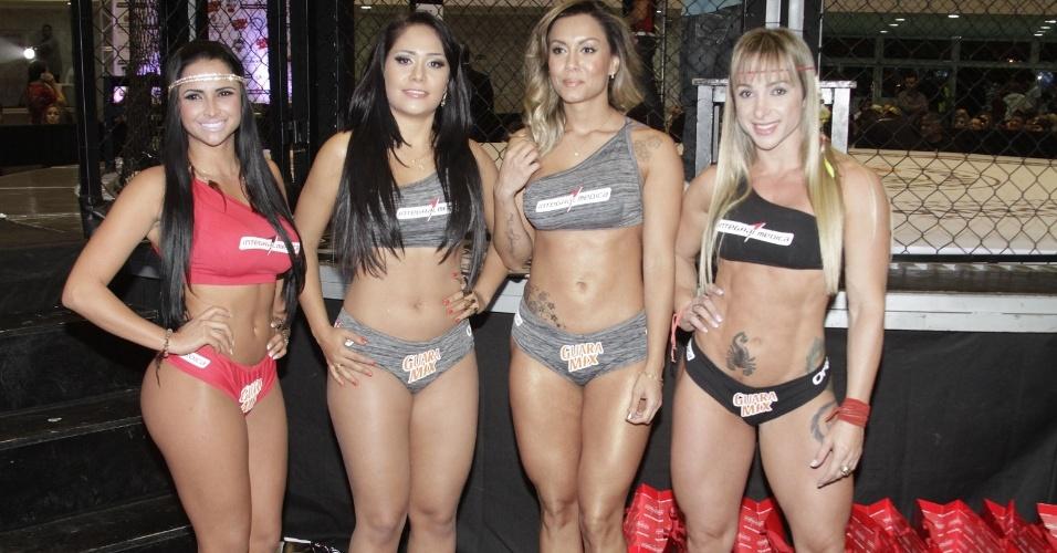 Jungle Fight 58, em comemoração aos dez anos do evento, teve a adição das ex-BBBs Lia Khey e Jackeline Faria como ring girls, mostrando as placas de rounds no ginásio do Canindé, em São Paulo