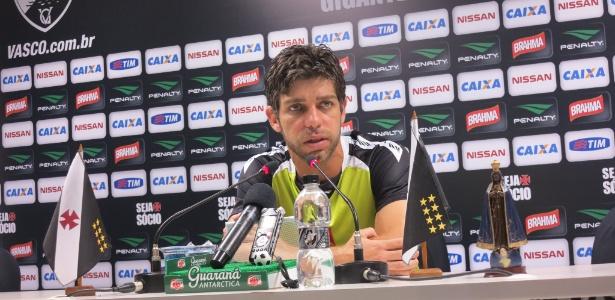 Juninho nos tempos de Vasco; jogador não havia sido consultado sobre bandeira - Vinicius Castro/ UOL