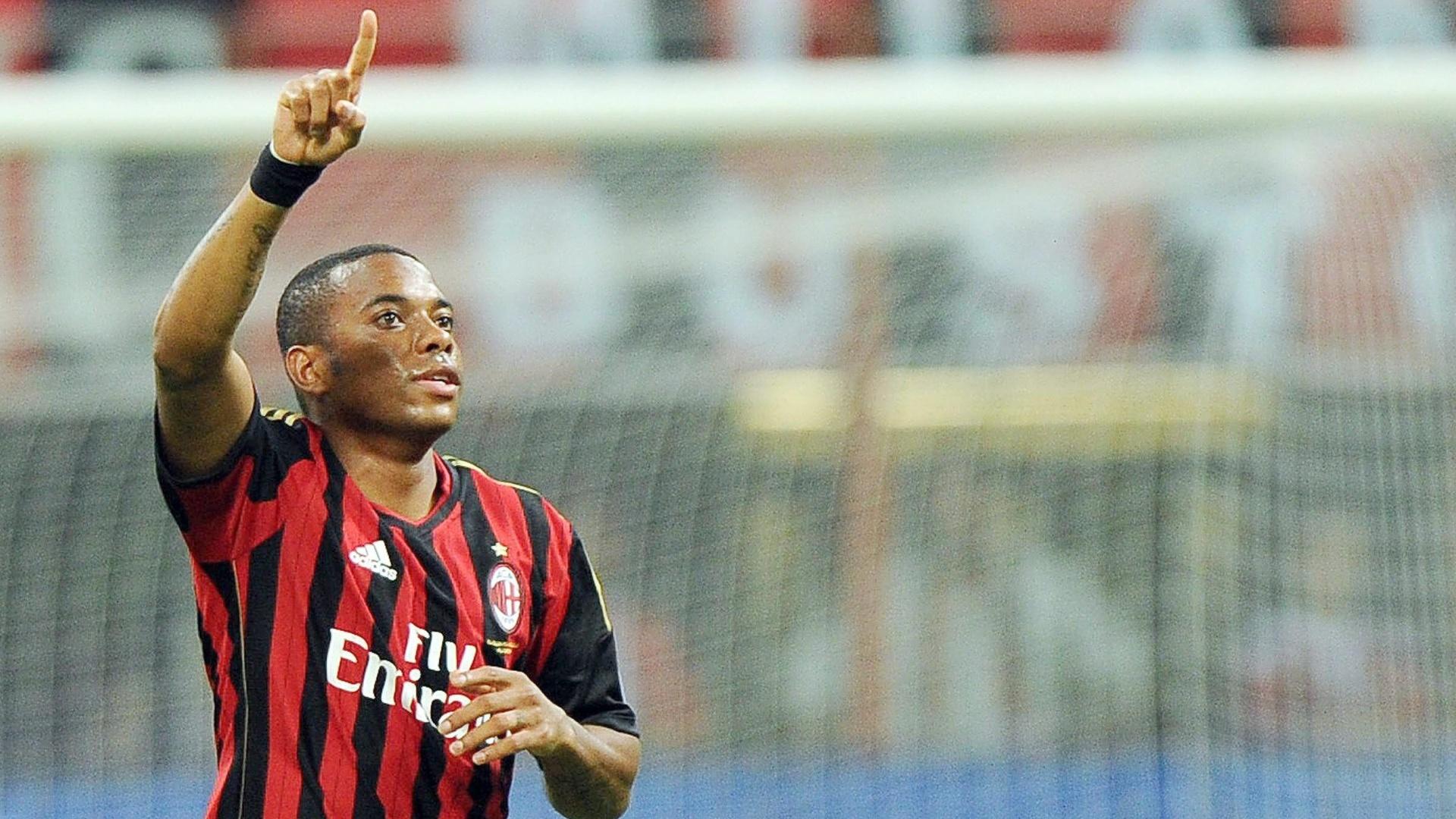 01.09.2013 - Robinho, atacante do Milan