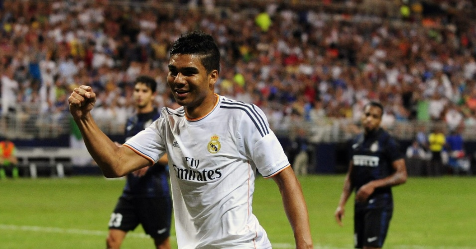 10.08.2013 - Casemiro, volante do Real Madrid