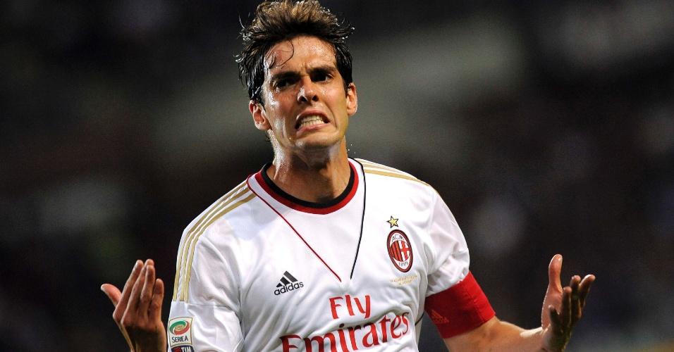 14.09.2013 - Kaká, meia do Milan