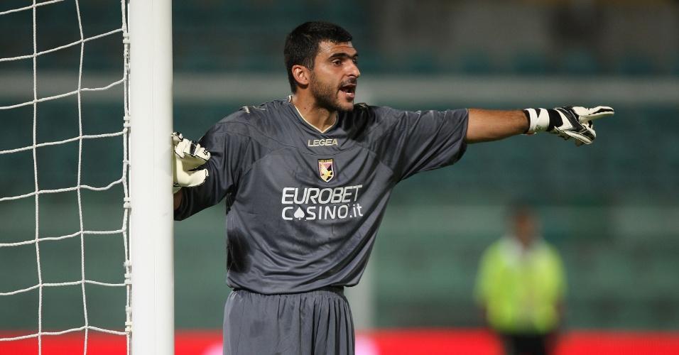 21.08.2011 - Rubinho, ex-goleiro do Palermo e que atualmente defende a Juventus