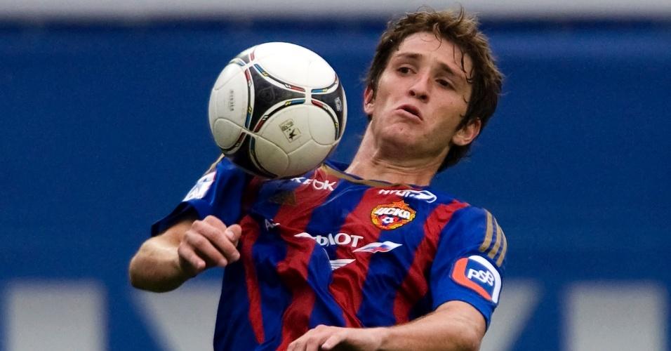 30.09.2012 - Mário Fernandes, zagueiro e lateral direito do CSKA Moscow