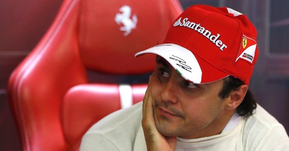 21.09.2013 - Felipe Massa fica na espera para treinar para o GP de Cingapura
