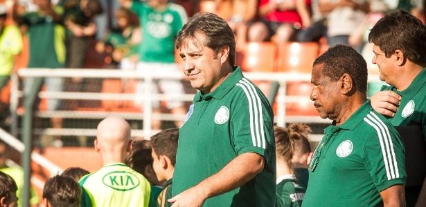 Será a primeira partida do técnico Gilson Kleina desde sua renovação - Rodrigo Capote/UOL